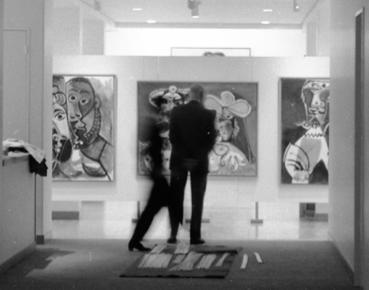 Picasso, Homme et femme, tête, exposé à la Fondation Vuitton, Paris 1